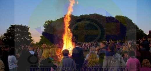 عيد النار في السويد