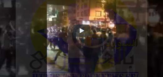 آلاف الأتراك يهاجمون المحال التجارية للسوريين في اسطنبول