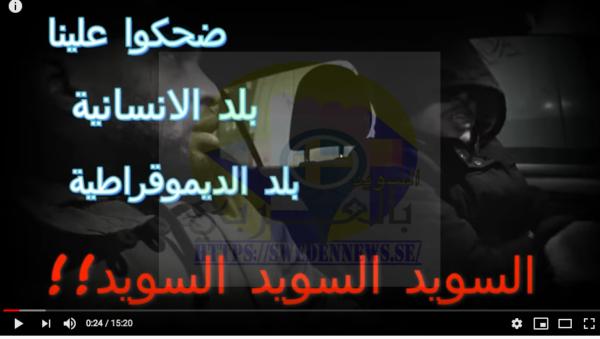 العثور على شاب فلسطيني مشرد في شوارع السويد.. فيديو